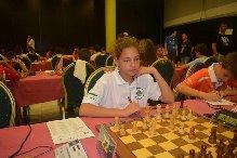 María Infantes, ajedrecista palmerino.