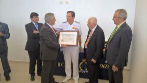 El Almirante de la Flota española y autoridades en el RCMH?.