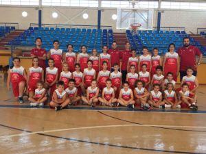 Campus de baloncesto de  Fran Cárdenas en La Palma del Condado.