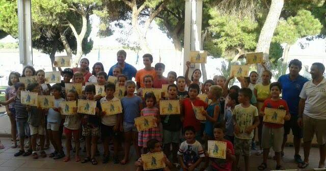 Clausura de los cursos en el CDN Punta Umbría.