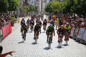 Circuito ciclista en La Palma del Condado.