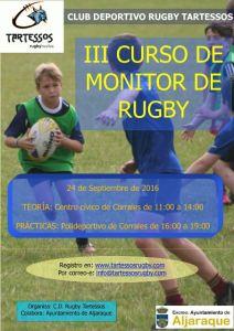 Curso de monitor de rugby en Aljaraque.