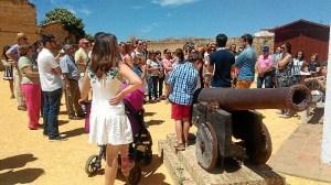 Visita Castillo de Moguer, 31 mayo 2015