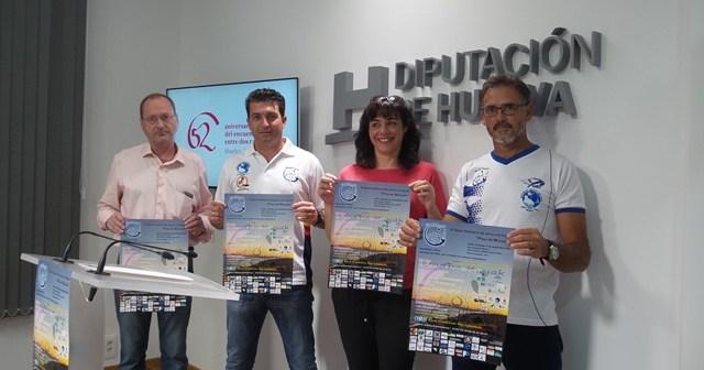 Presentación del II Open solidario en kayak en Mazagón.