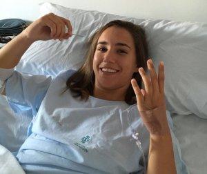 Sara Serrat, portera del Cajasol Sporting.