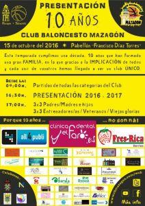 Décimo aniversario del CB Mazagón.
