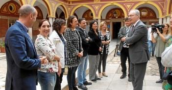 27.10.16 Visita Pte Parlamento andaluz 2