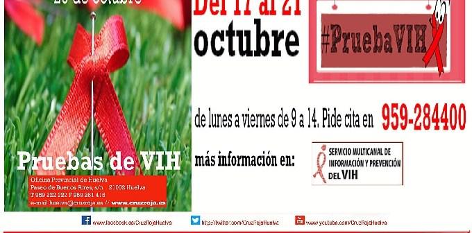 Cartel semana pruebas VIH