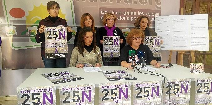 Area de la Mujer IU Huelva #25N