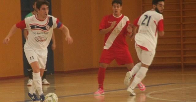 Smurfit Kappa-Alchoyano de fútbol sala.