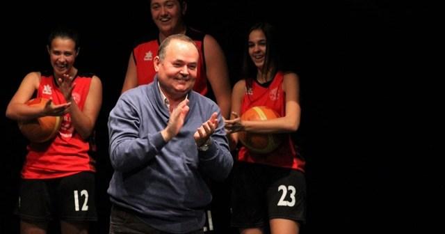 Antonio Lagares, presidente honorífico del CB La Palma 95.
