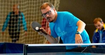 Yimi Rúa, jugador del Conservas Lola de tenis de mesa.