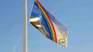 imagen de archivo de la bandera ecoplayas 2015