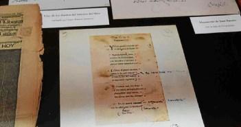 Correciones y manuscritos del Nobel