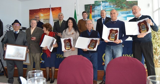 Premiados del Real Club Marítimo de Huelva.