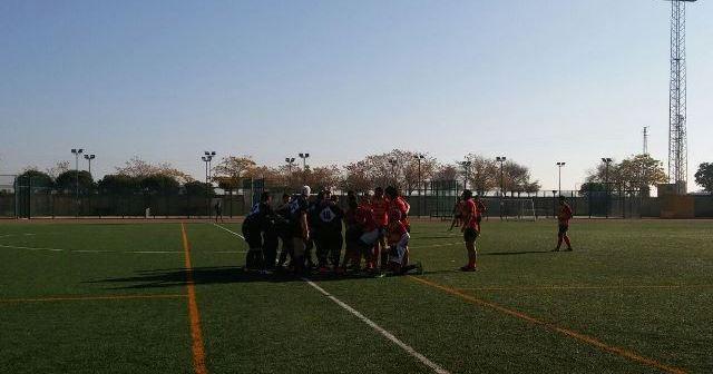 Huelva Unión Rugby en Utrera.