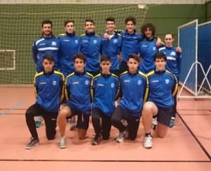 Selección masculina juvenil de voleibol de Huelva.