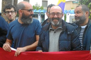 Pedro Jimenez participa en un acto republicano con motivo del 14 de abril en Ayamonte