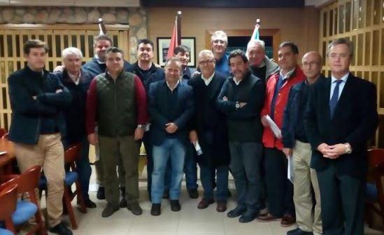 Junta directiva del Club Náutico Deportivo de Punta Umbría.