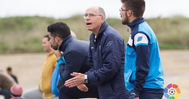 Antonio Toledo, entrenador del Fundación Cajasol Sporting.