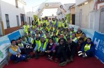 Organizadores y colaboradores del Trail La Sonrisa de Rafa.