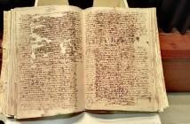 Acta capitular firma Cervantes
