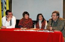 El Concejal de Cultura presenta a las poetisas