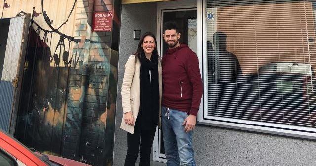 Atracciones La Cinta con el Fundación Cajasol Sporting.