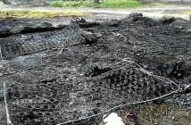 Incendio asentamiento Moguer