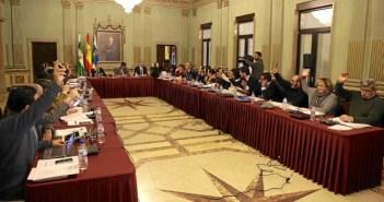Pleno del Ayuntamiento de Huelva mes de enero (1)