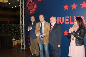 Recepción de bienvenida de la Diputación de Huelva al Campeonato de Selecciones.