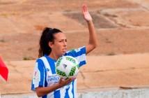 Sandra Castelló, jugadora del Cajasol Sporting.