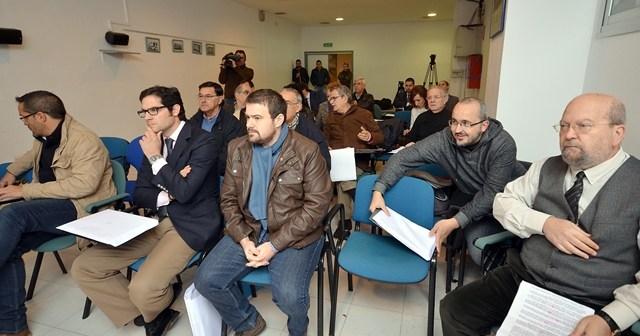 Asistentes a la Junta  General de Accionistas del Recreativo de Huelva.