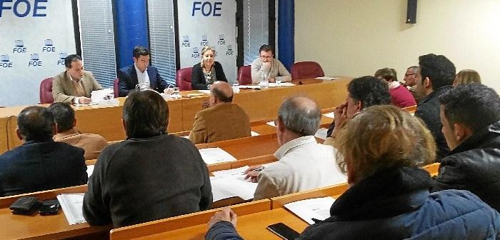 Eleccion de Rafael Acevedo como presidente de los hosteleros de la FOE 2
