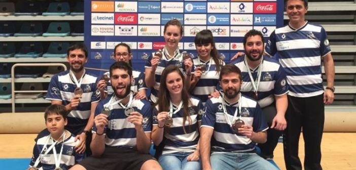 Jugadores del Recreativo IES La Orden en el Campeonato de Andalucía.