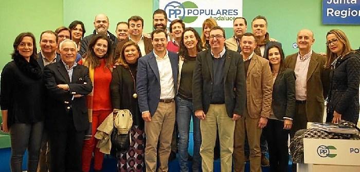 PP Huelva Juanma Moreno