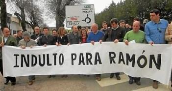 Piden en Aracena el indulto para el ex alcalde de Los Marines