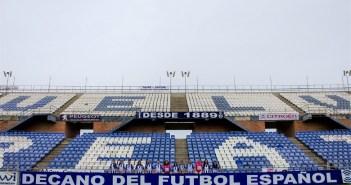 Plantilla del Cajasol Sporting en el Nuevo Colombino.