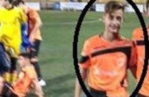 Eloy Ávila, jugador del Bollullos CF.