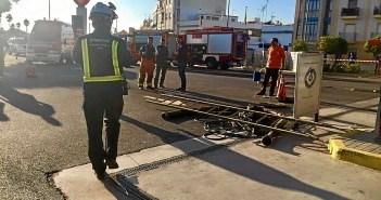 vertido gasolina a la red de alcantarillado en Ayamonte (2)