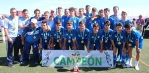 Selección cadete de Málaga, campeona de Andalucía.