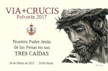 Cartel Via Crucis Polvorin 2017