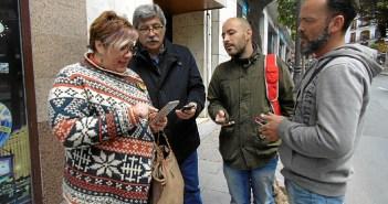 Monica Rossi y Juan Manuel Arazola, concejales IU en el Ayuntamiento de Huelva