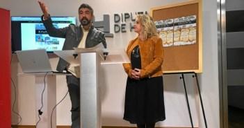 Presentación en la Diputación de Huelva.