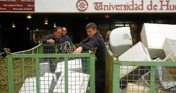 reciclaje equipos informaticos UHU