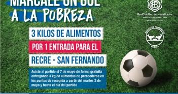 Promoción para el Banco de Alimentos en el Recre-San Fernando.