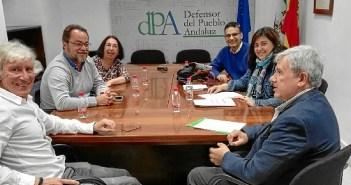IU Manzanilla en Oficina Defensor del Pueblo Andaluz