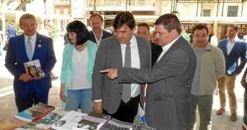 Presencia de la UNIA en la Feria del Libro de Huelva