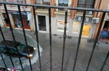 Tromba de agua anega diversas zonas de Huelva (6)