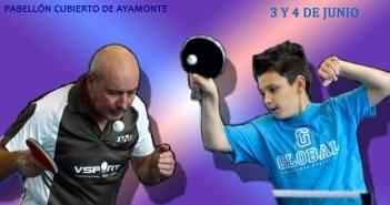 Liga Andaluza de tenis de mesa en Ayamonte.
